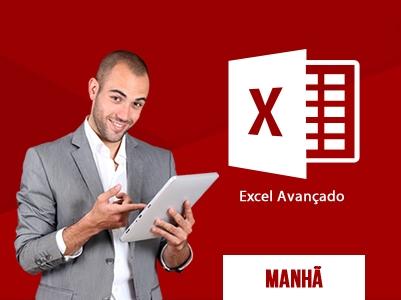 Excel Avançado – Segunda, Quarta e Sextas – 10:00 às 13:00 – Início: 18/11/2020