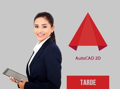 AutoCAD 2D – Segunda, Quarta e Sexta – 13:30 às 16:30 – Início: 04/11/2020