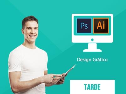 Design Gráfico Tarde – 14:00 às 16:30h – Início: 03/06/2019