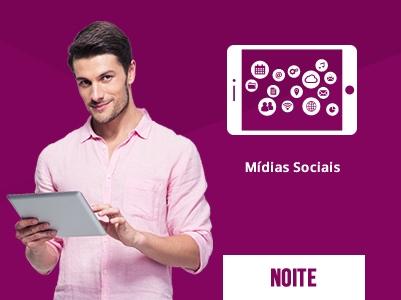 Gestão de Mídias Sociais Noite – 18:30 às 21:30h – Início: 15/07/2019