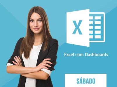 Excel Dashboards – SÁBADOS – 13:00 às 17:00