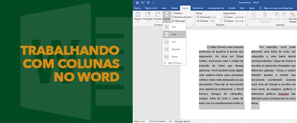Trabalhando com Colunas no Microsoft Word