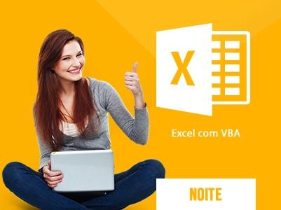 Excel com VBA Noite – 18:30 às 21:30h