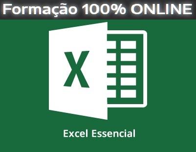 Excel Essencial ONLINE Aos Sábados- 08:00 às 12:00h – Início 28/11/2020